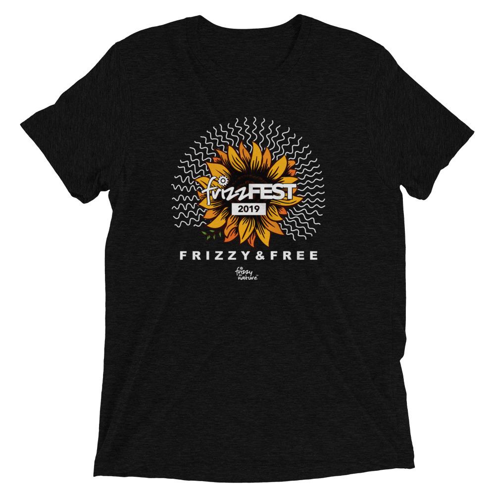 Frizz Fest 2019 (Frizzy & Free) Unisex Short Sleeve T-shirt